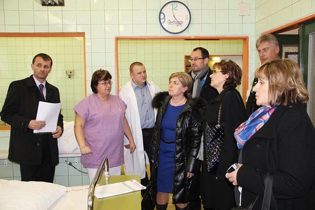 Návštěva Nemocnice s poliklinikou Česká Lípa
