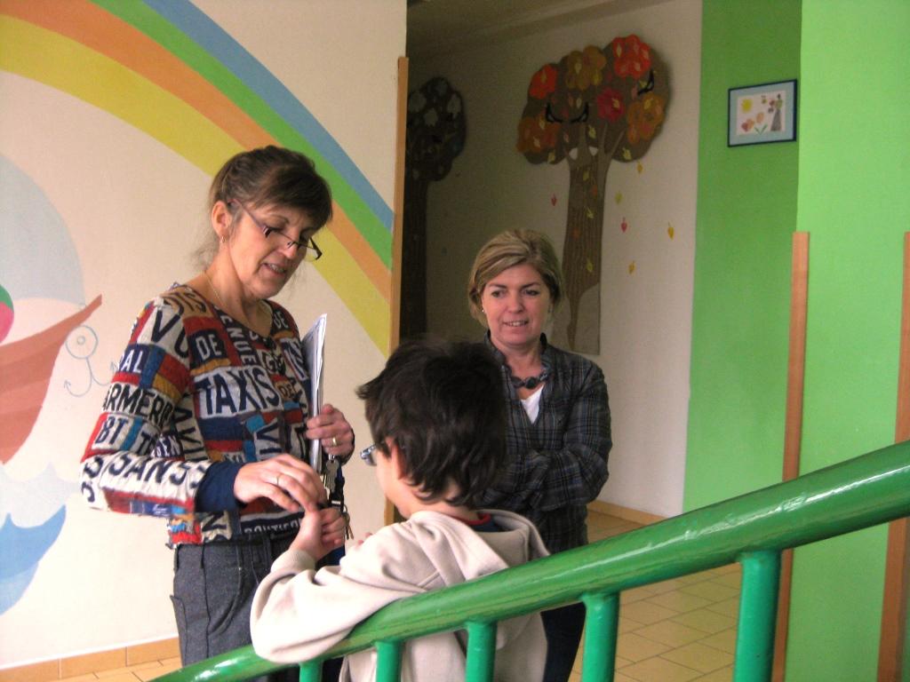 Návštěva dětského domova Krompach