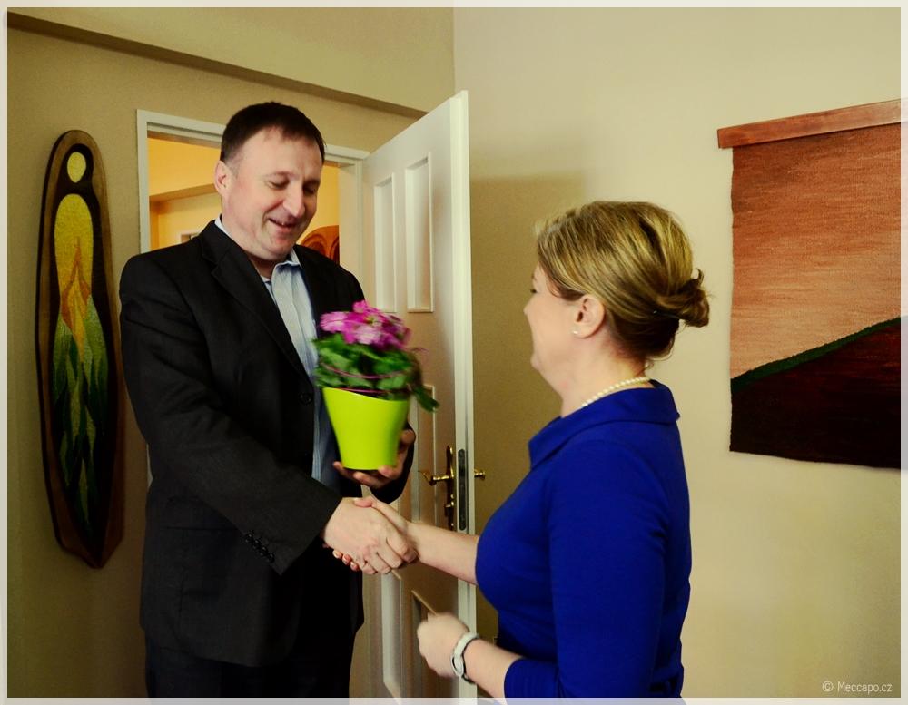 Slavnostní otevření regionální poslanecké kanceláře v Jablonci n/N