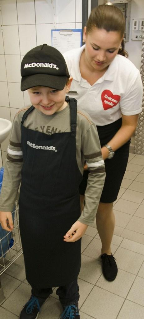 Filip kuchařem