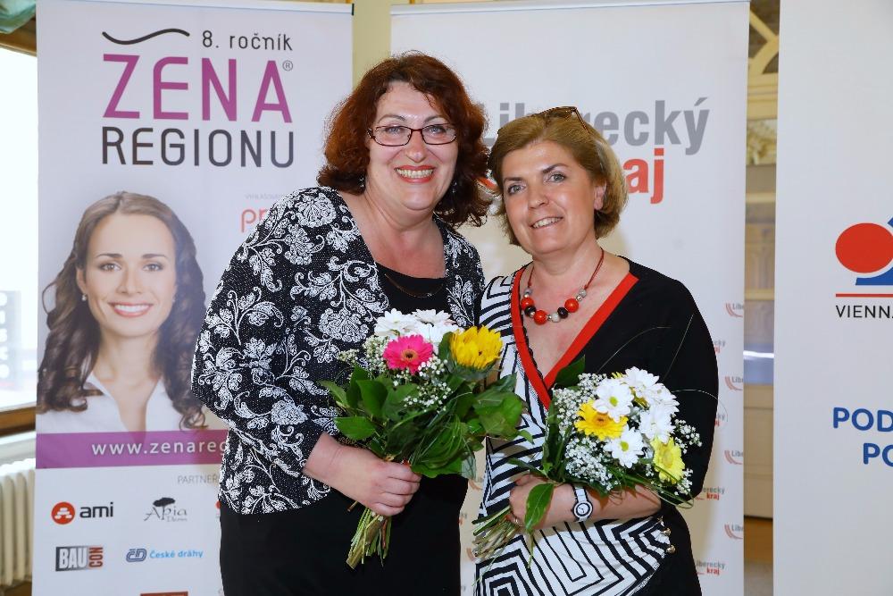 Jeden den třetí Ženy regionu za Liberecký kraj 2017